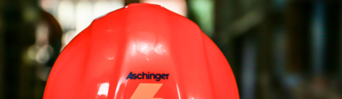 Aschinger recognized by the Associated General Contractors of America