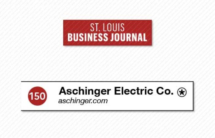 St. Louis Business Journal ranks as Aschinger as one of the largest