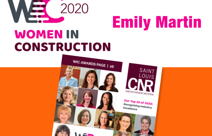 Martin named one of the Top 20 Women In Construction